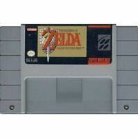 The Legend of Zelda: A Link to the Past Super Nintendo SNES Game Cart CLEAN *VG