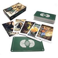 Tarot Cards Deck Vintage Antique The Wildwood Tarot Cards Box Game 78 Cards HL