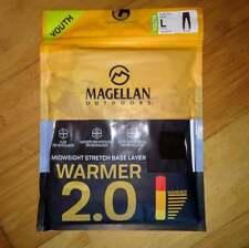 Magellan Outdoors Boys' Baselayer 2.0 Thermal Stretch Pants Large 12 14