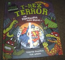 Dino Supersaurus: T-Rex Terror Picture Book (Dino Supersaurus) Hardcover