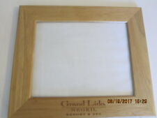 8x10 Wooden Frame Grand Lido Negril Resort & Spa pre-owned