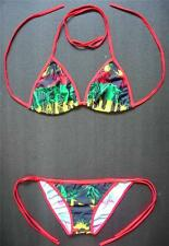 Sexy Rasta BIKINI Black Red Yellow Green Swimming Costume Beach Wear Swimsuit
