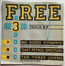 "Various Artists / Big Audio Dynamite - Record Mirror 3 Track 7"" Single RM3 Nr EX"