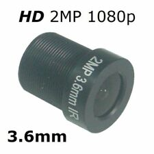 Sunvision HD 2MP 3.6mm Monofocal 92⁰ AOV Replacement Lens for FOSCAM FI9821W