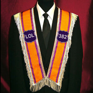 Loyal Orange Order Lodge LOL - Collar - No emblems