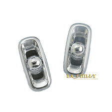 A Pair Side Marker Fender Turn Signal Light Lamp for 02-08 Audi A4 S4 A3 A6 S6