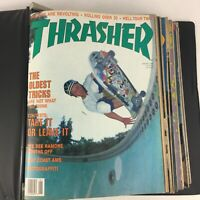 Extremely Rare Vintage Thrasher Magazine Lot 1988 Volume 8 - 11 Issues