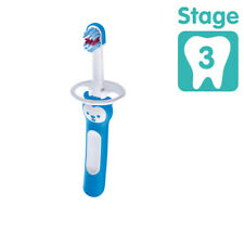 MAM Baby Brush With Safety Shield Blue