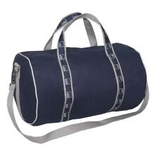 "Authentic Goldman Sachs 17"" Duffle Banker Bag - Navy/Gray"