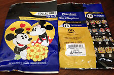 Disney Collectible Pin Pack (Disney Couples) - New Packet 5 Random Selected Pins