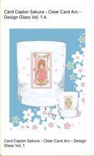 Cardcaptor Sakura Clear Card Arc Glass Cup Set Of 2 Sakura & Kero Japan Toreba