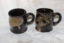 2 Mug Cup Tasse à café Bought in Guernsey Pottery Second's lot 3