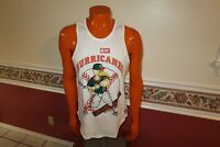 NWOT Vintage UNIVERSAL ATHLETICS MIAMI HURRICANES TANK TOP SIZE LARGE MENS