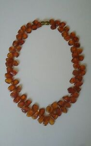 Ancien Collier en Ambre-Amber Necklace