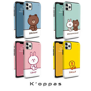 Official Line Friends Breather Series Guard Up Bumper Phone Case Cover