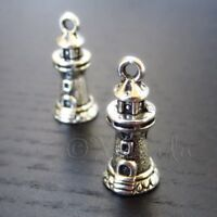 20 Or 50PCs School Bus 23mm Wholesale Antiqued Silver Plated Charms C4440-10