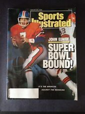1988 Sports Illustrated 1-25-88 John Elway Cover VG-EX