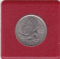 50 Sentimos Philippinen 1989 Affenadler Pithecophaga jefferyi