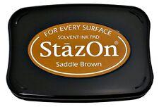 StazOn - Ink Pad - Saddle Brown