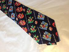 Mens Maple Leaf Farms SILK Tie Necktie IMAGERIES~ FREE US SHIP (9446)