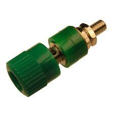 Polklemme 6a PK 001 con presa 4mm gerändelter testa Schnepp pk001 VERDE 853685