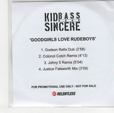 (EJ277) Kid Bass ft Sincere, Goodgirls Love Rudeboys - DJ CD