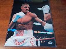 """ANDRE """"S.O.G"""" WARD - SIGNED AUTHENTIC 11X14 PHOTO Gold Medal Boxer - PSA DNA COA"""