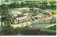Alberta Pick Motel, Montgomery, Alabama.Vintage Postcard.