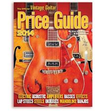 Official Vintage Guitar Price Guide Fender Gibson Book