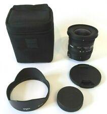Sigma 10-20mm F3.5 EX DC HSM Lens - Nikon Fit + original Caps, Hood & Case