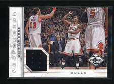 DERRICK ROSE 2012/13 12/13 LIMITED PERFORMERS GAME USED JERSEY #080/199 AB5104