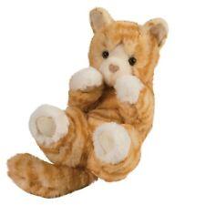 "Lou Lou Orange Tabby Cat Stuffed Animal 9"""
