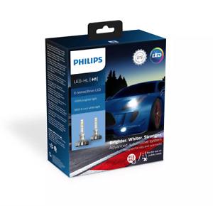 H1 Philips 5800K X-treme Ultinon LED Gen2 11258XUX2 Headlight Bulb (Pack of 2)