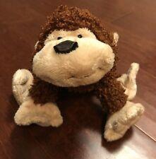 "GANZ WEBKINZ CHEEKY MONKEY Plush stuffed animal toy NO CODE  8"""