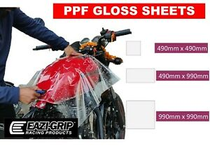 Motorcycle SELF HEALING PAINT PROTECTION FILM Gloss PPF Clear Vinyl Wrap Sheets