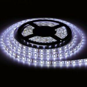 12V 5M SMD 5050 Bright LED Strip Light 60 Leds/m IP65 Waterproof illumination