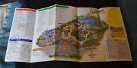 Disney's California Adventure 2001 Guest Preview Days Map - Disneyland
