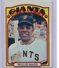 1972 Topps Baseball Card Willie Mays HOF San Francisco Giants Near Mint # 49