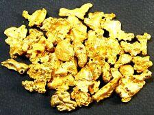 90 pcs Alaska Natural Gold Nuggets / Flake very pretty 1#