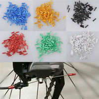 50pcs Bike Bicycle Brake Shifter Derailleur Inner Cable Wire End Cap Crimps Hot