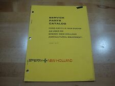 New Holland Ford 460 ci gas engine parts manual catalog 1977