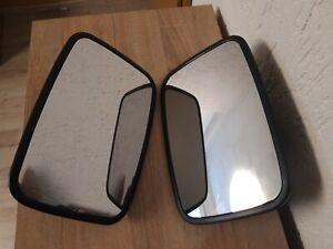 Multicar M26 M25 M24 IFA B-1000 W50 Außenspiegel Set Spiegel Spiegelkopf