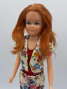 Ooak Titian Vintage 1975 Growing Up Skipper Barbies Little Sister Doll