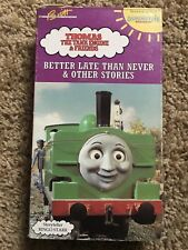 Thomas the Tank Engine Better Late Than Never  Other Stories VHS 1992 Ringo RARE