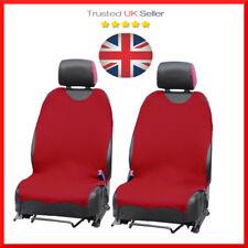 2 x Car Seat Covers protettore per KIA RIO SPORTAGE LAZIO PICANTO Set Rosso