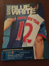 Blackburn Rovers v Stoke City 2011-2012