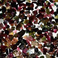 100.0% Natural Multi Colour Tourmaline Medium Size Rocks / Rough Loose Gemstone