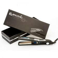Electric Head Jog Titanium VIBE Hair Styling Professional Straightener