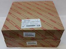 LEXUS OEM FACTORY REAR BRAKE ROTOR SET 2003-2009 GX470 42431-60201 X2
