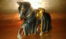 ☆SCHLEICH☆70032☆Pferd zum schwarzen Ritter REITPFERD Schleichtier RARITÄT